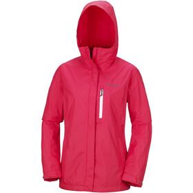Columbia Pouring Adventure II Jacket Damen red camellia